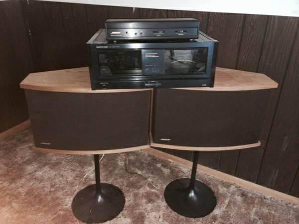 bose 901 vintage. bose speakers amp 901 vintage
