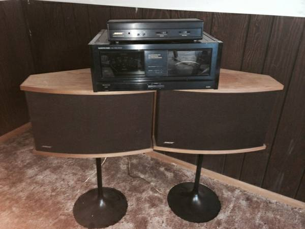Bose Speakers  Amp