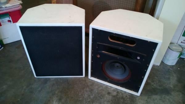 Electrovoice Hi-FI speakers