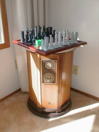 Empire Royal Grenadiers Speakers with marble tops