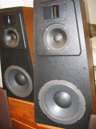 Petroff Labs Reference 3 way speakers