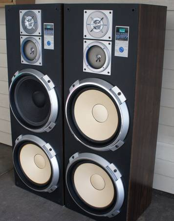 Sansui S-1117 The tower speaker system