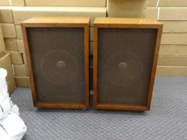 Vintage JBL c35 James B. Lansing Speakers