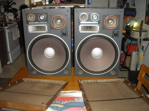 Vintage Kenwood kl-8080x Speakers