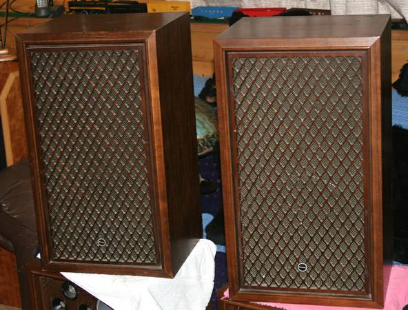Vintage Sansui SP-100 Stereo Speakers