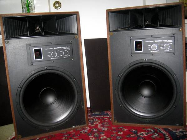 Mach One Radio Shack Speakers