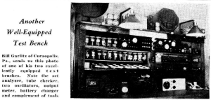 Another Well-Equipped Test Bench November 1932